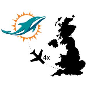 NFL London Facts Dolphins Spiele
