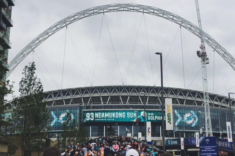 NFL London Wembley Stadion