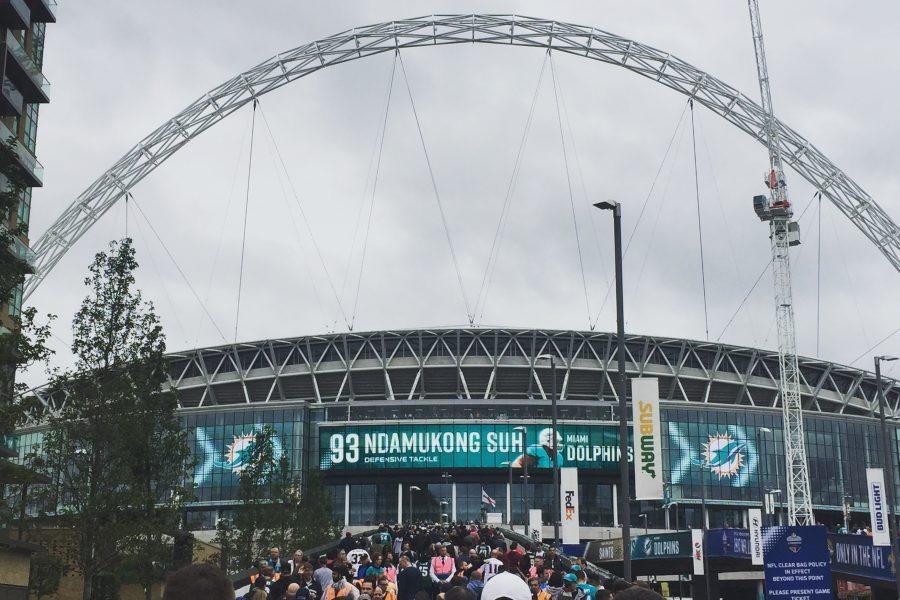 NFL London Wembley Stadion