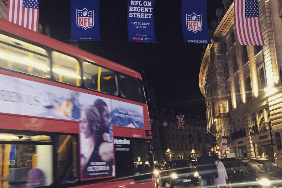 NFL London on Regent Street