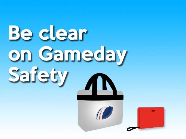 NFL London Bag Policy