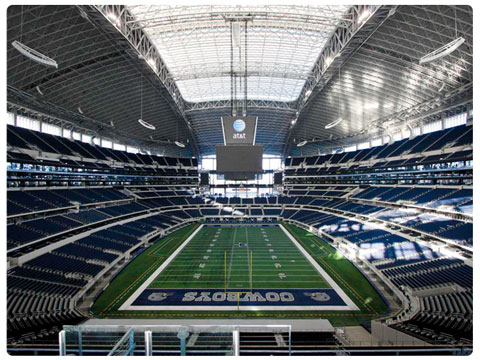 NFL London Rookies Guide AT&T Stadium
