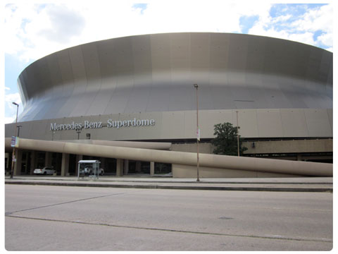 NFL London Rookies Guide Mercedes Benz Superdome