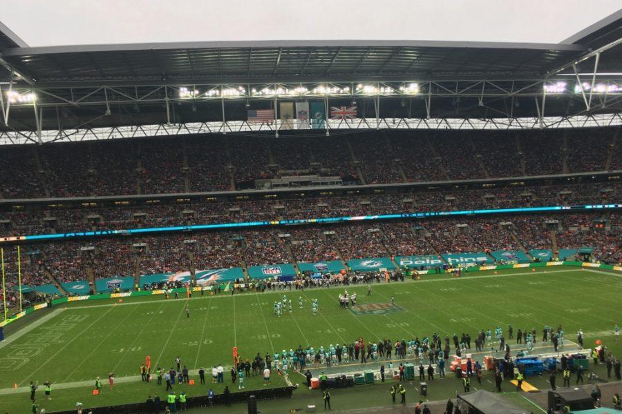 NFL London New Orleans Saints vs Miami Dolphins